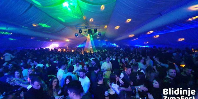 Novu godinu veliki broj gostiju dočekao i na Blidinju