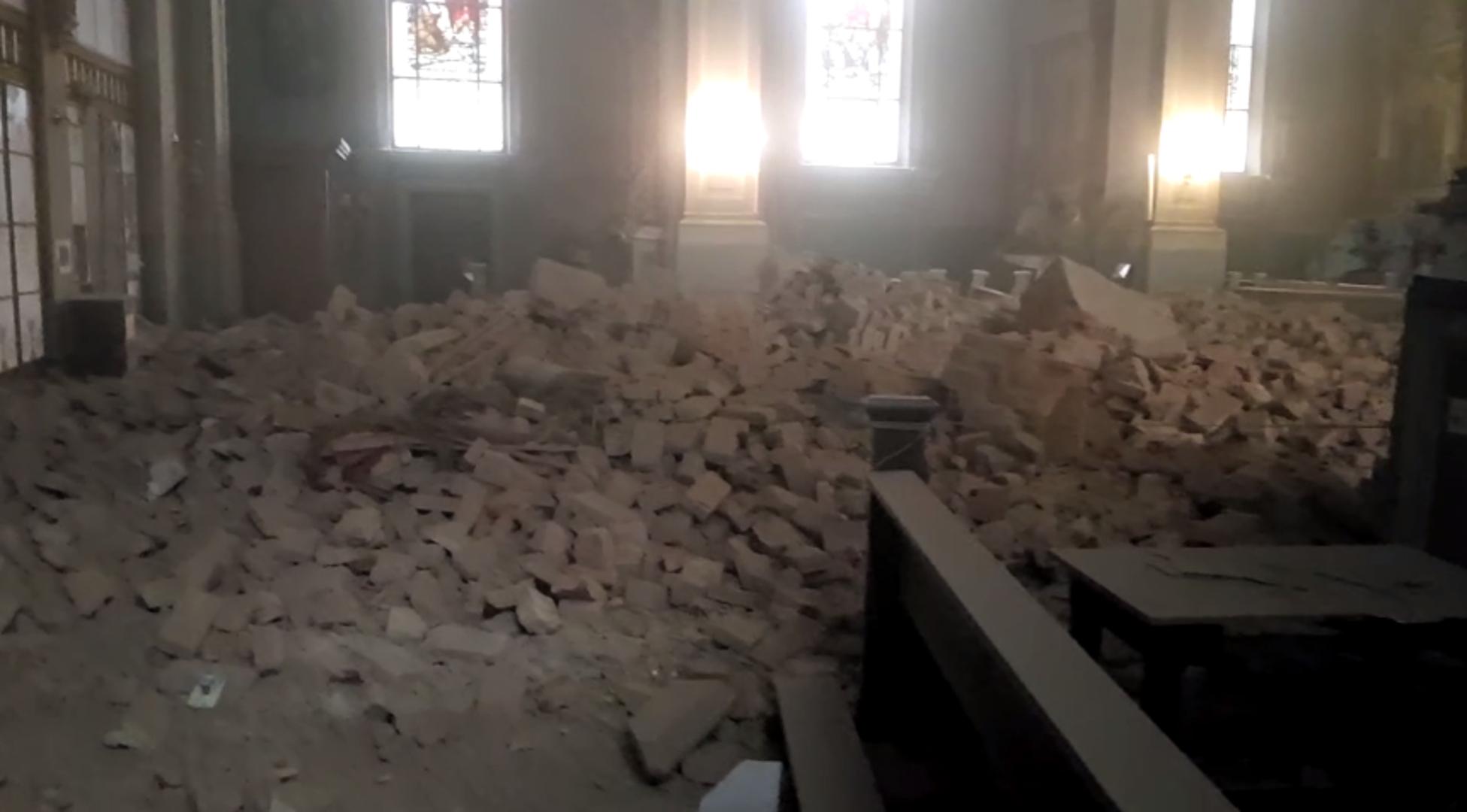 Urusena Crkva Srca Isusova U Palmoticevoj U Zagrebu Vrisak Info