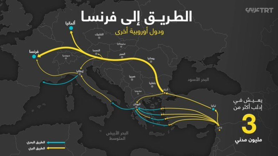 Otkrivena Karta Turska Predlaze Migrantima Da Ne Idu Preko Bih I